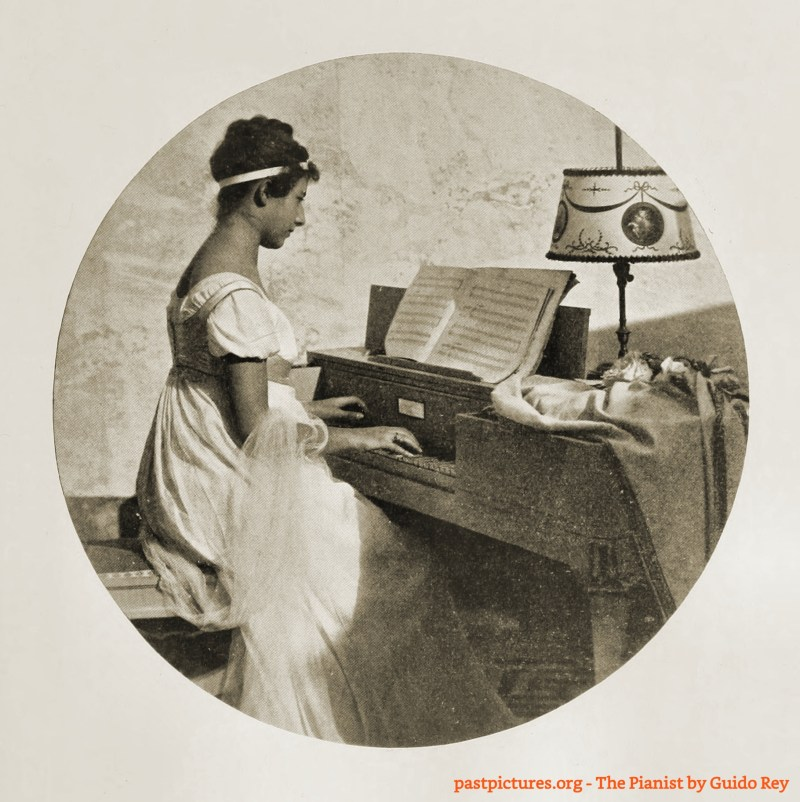 The Pianist by Guido Rey about 1908