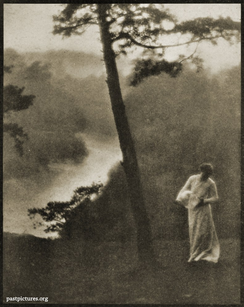 Landscape with Figure by Clarence Hudson White 1908