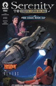 FCBD2016DH (Dark Horse Announces 2016 Free Comic Book Day Gold Offering)