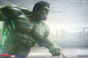 400268_press02 (He's Always Angry: Hulk Maquette-Avengers: Age of Ultron by Sideshow Collectibles)