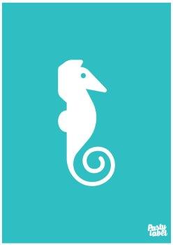 poster zeedieren zeepaardje