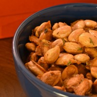 Roasted Almonds with Rosemary and Fleur de Sel