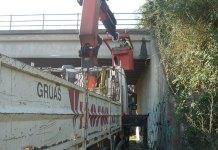 Imagen de los trabajos de auscultación en el puente Mas del Rosari
