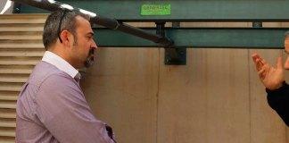 El concejal de Deportes, José Manuel Mora, visita el Polideportivo de la Canyada para revisar las nuevas calderas