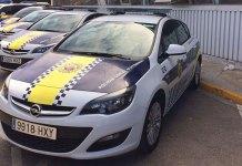 Vehículos de la Policia Local de Paterna