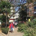 Imagen de los trabajos en la Plaza Mayor de Paterna