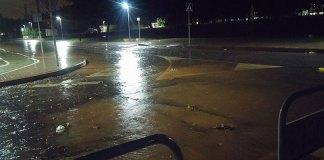Las lluvias no causaron problemas de gravedad en esta ocasión