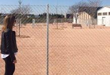 Nuria Campos visita la zona Verde de Fuente del jarro