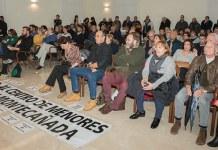 Los vecinos de Montecañada mostraron su oposición a la instalación del centro de menores en el Barrio