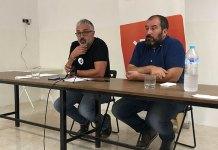 Ramón y Martí durante la rueda de prensa