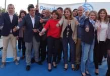 Instante de la presentación de la candidatura del PP de Paterna