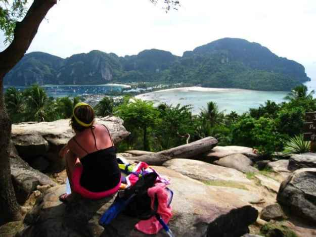 The post author on Koh Tao, © Morgan DeBois, EXPLORE.DREAM.DISCOVER.