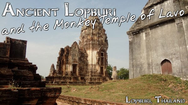 """The ruins of Lopburi are unique from most ancient sites that I had visited to this point. The modern town has been built up literally on top of and around the existing ruins."""