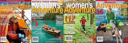 Women's Adventure Magazine : Stock Licensing