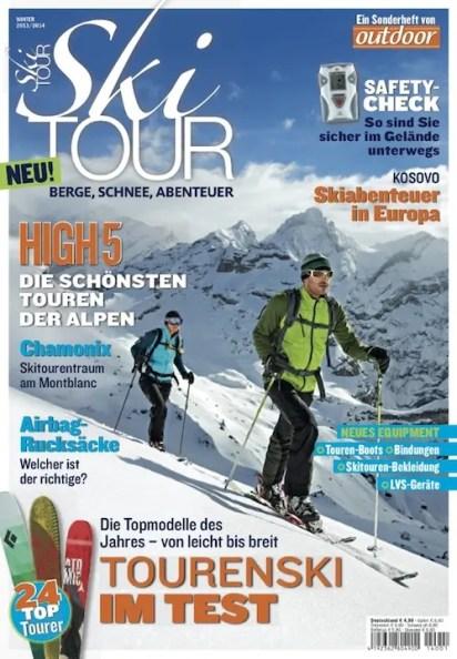 Ski Tour Cover Clip