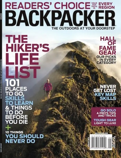 Backpacker Magazine : International Assignments & Stock Licensing