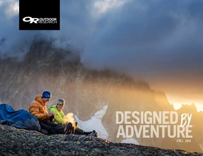 Outdoor Research : Brand Partner, International Commercial Photoshoots