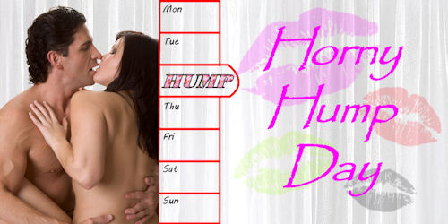 Horny Hump Day graphic