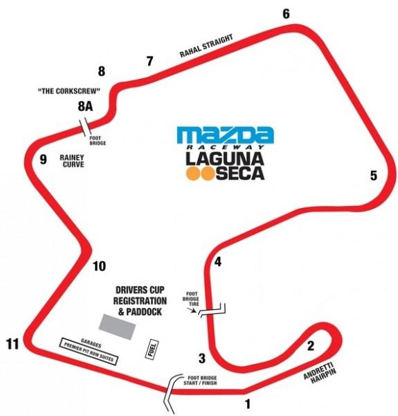 Mazda Raceway Laguna Seca | Patrick Garmyn