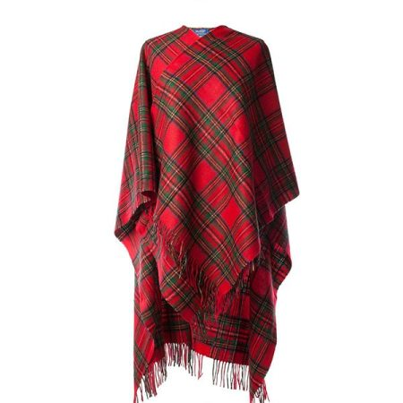 Royal Stewart lambswool Cape