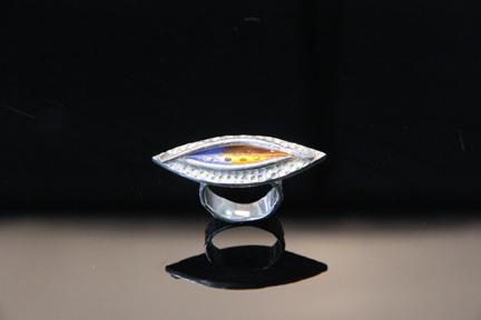 Evil Eye Ring by Patrik Kusek