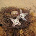 Silver and MM Opal, Woodland Chic: Metal Clay Jewelry as Nature Intended by Patrik Kusek