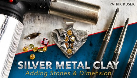 Patrik Kusek on Craftsy.com teaching metal clay and stone setting