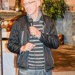 Auch die Kirche in Görne hat ihre Förderer: hier Herr Kluge.