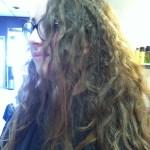 Keratin Hair Treatment on Curly Hair by Master Hair Stylist Misty Bliven
