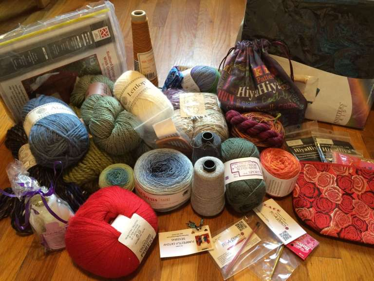 Patty Lyons' Fall Knitting Challenge - Grand Prizes