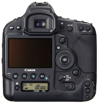 3 EOS 1D X bodyonly back REV1 EUR Canon EOS 1D X