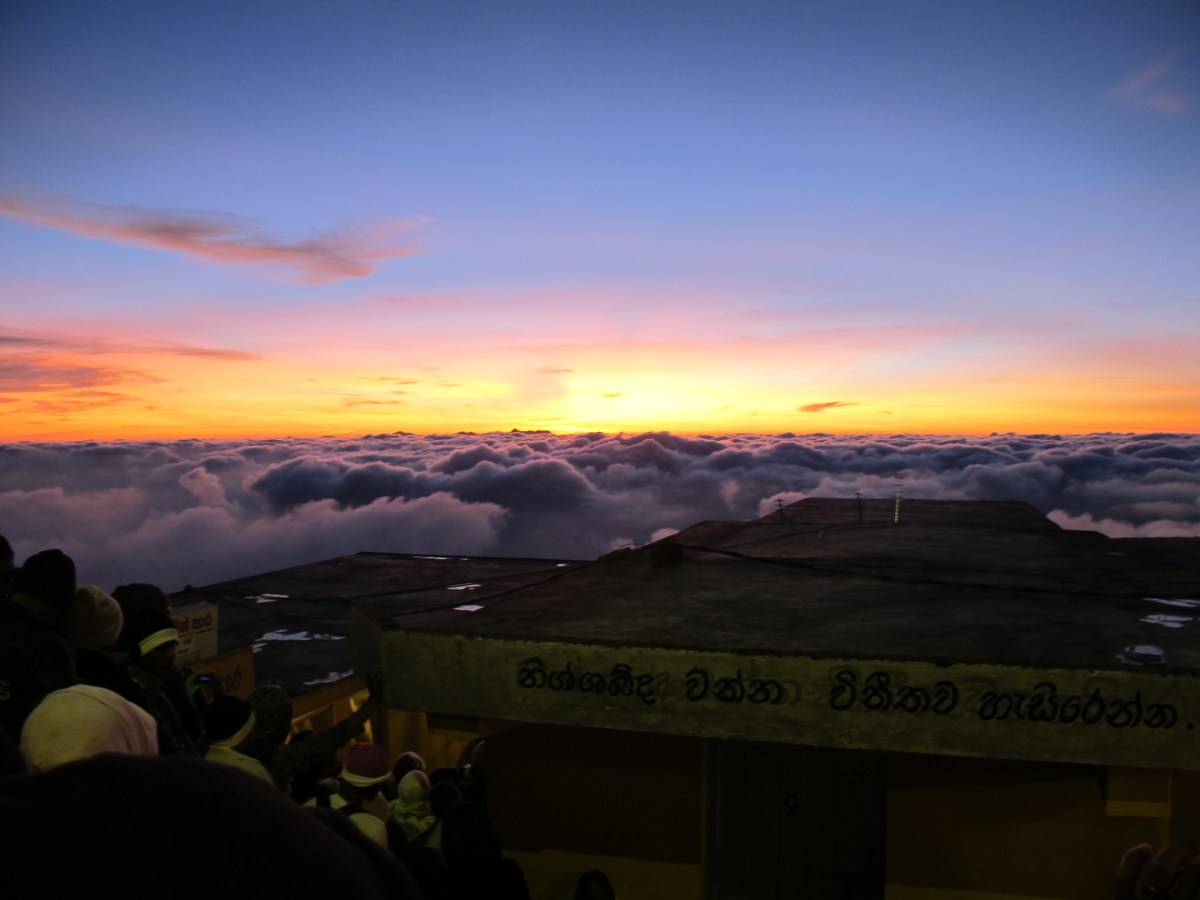 Adam's Peak Climb with 5 381 steps