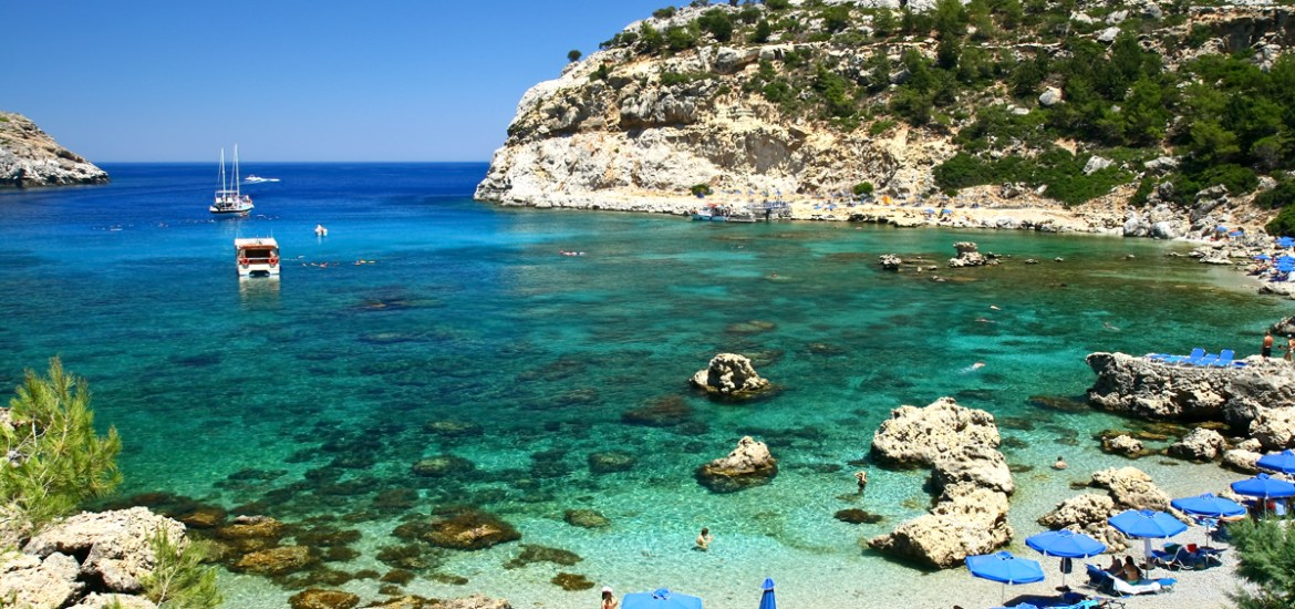 The beautiful Anthony Quinn bay