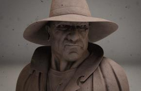 Pilgrim Sculpt Study