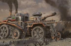 Steampunk Tank Fortress