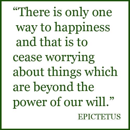 Epictetus reflects on meetings
