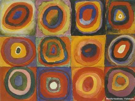 Kandinsky  says: