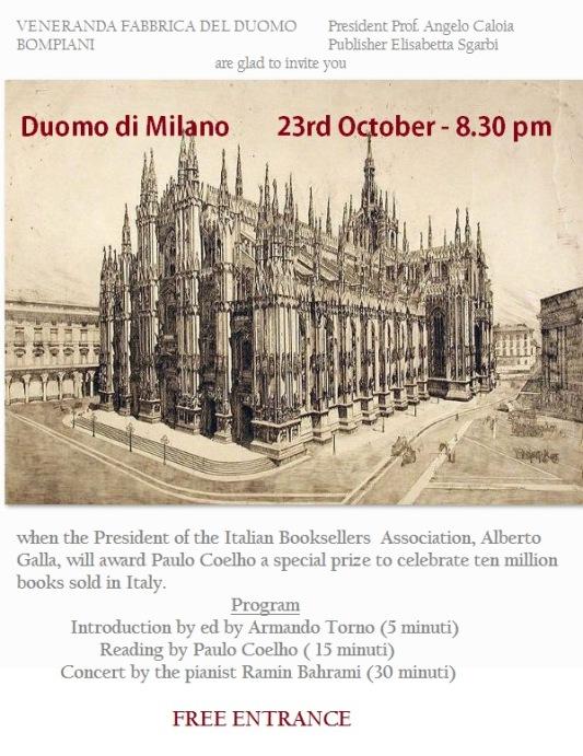 Duomo di Milano, 23 October 2013, free entrance