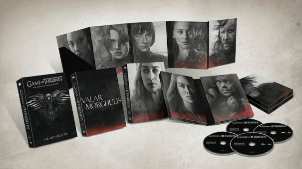 Game Of Thrones Season 4 spread out