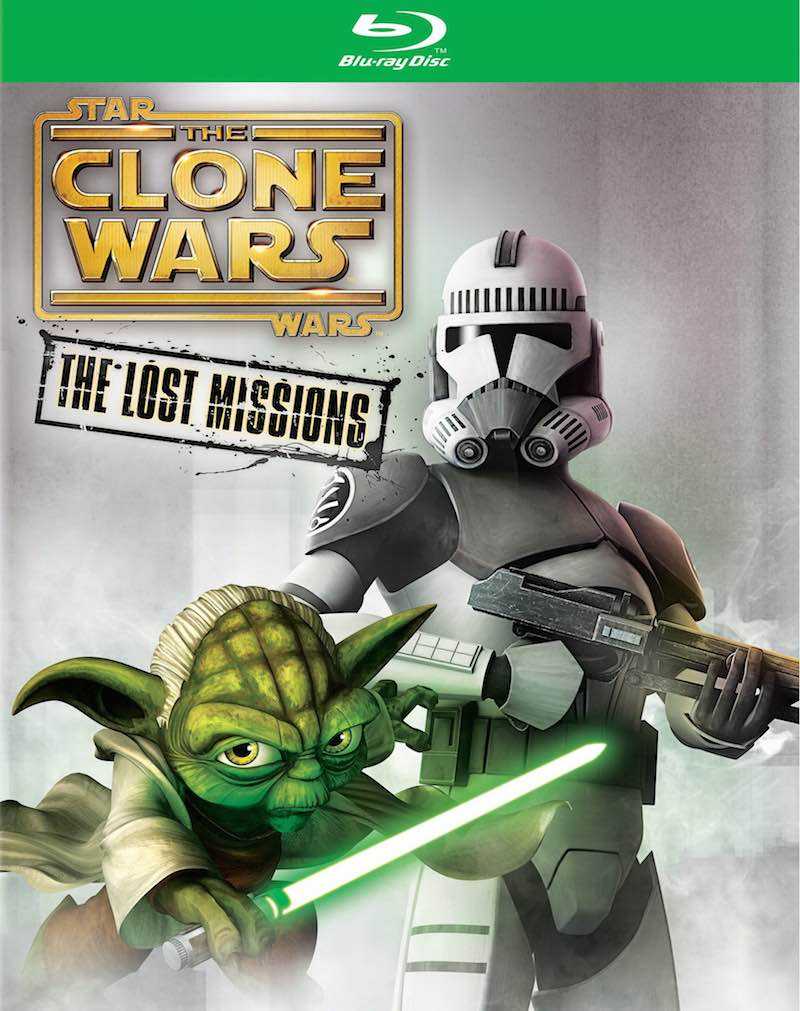 Clone Wars Lost Missions Dvd Wars The Lost Missions as