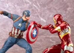 Kotobukiya ARTFX+ Captain America Civil War Iron Man MAIN