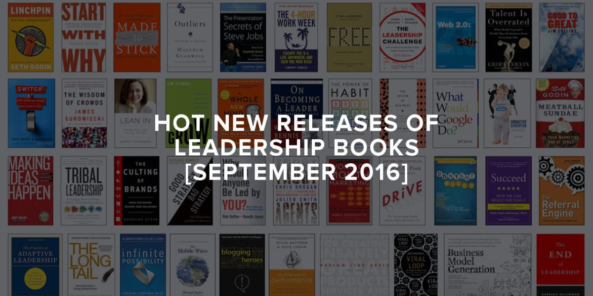 hot new releases of leadership books