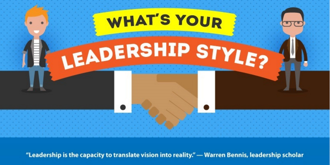 what u0026 39 s your leadership style   infographic