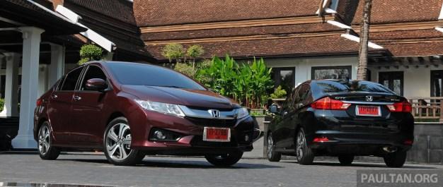 driven 2014 honda city i vtec previewed in phuket new honda jazz