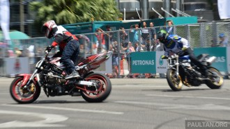 Petronas Motorsports Demo Run 26
