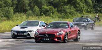 BMW i8 vs Mercedes-AMG GT S vs Jaguar F-Type R Malaysia 008