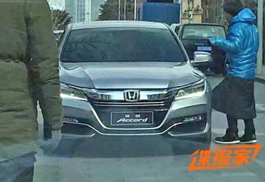 2016 Honda Accord Facelift China 3