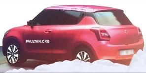 Suzuki Swift leak 9