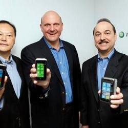 launch of the Windows Phone 7