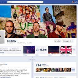 social media services like facebook have fan pages